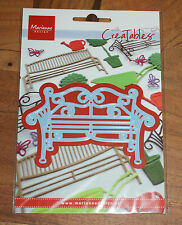LR0258 MARIANNE CREATABLE GARDEN BENCH cutting die