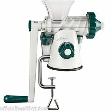 MANUAL WHEATGRASS JUICER - LEAFY GREEN JUICER - COLD PRESS JUICE