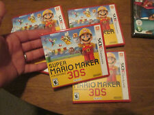 Super Mario Maker (Nintendo 3DS, 2016) BRAND NEW FACTORY SEALED