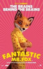 POSTER FANTASTIC MR FOX WES ANDERSON GEORGE CLOONEY 5