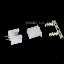 100sets 2pin XH2.54 Connector Kits male Pin Header+Terminal+female pin connector