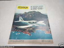 AVIATION MAGAZINE N° 353 15 aout 1962  PIPER AZTEC - HOVERCRAFT BRITANNIQUES *
