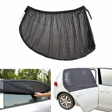 2Pcs Car Side Rear Window Sun Visor Shade Mesh Cover Shield Sunshade Protector L