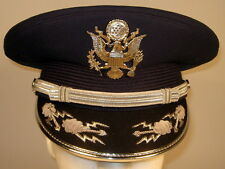 US Air Force Male Band or Honor Guard Field Officer Dress Hat Cap 7 1/4 or 58