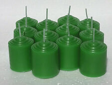 12 Pack of Eucalyptus & Holly   Scented 10 Hour Votive Candles