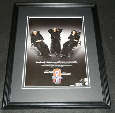 Derek Jeter Tiger Woods Roger Federer 2008 Mach 3 Framed ORIGINAL Advertisement