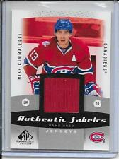 10-11 SP Game Used Mike Cammalleri Authentic Fabrics Jersey