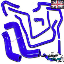 UK TTZ SILICONE RADIATOR HOSE KIT BLUE fits SUBARU IMPREZA 01-07 TURBO WRX STI