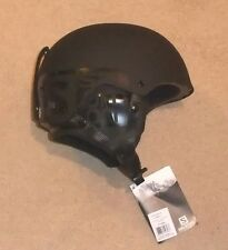 NEW SALOMON BRIGADE  GENTS SKI HELMET X/LARGE  59- 60 cm BLACK