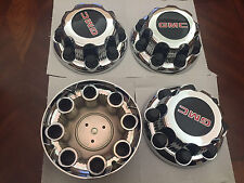 "Set of 4 Chrome GMC Sierra Yukon XL 8 Lug 2500 Center Caps 16"" Aluminum Wheels"