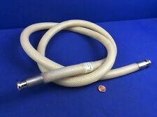 "INTEGRA CO. CLEAR MARK 72"" BRAID REINFORCED SILICONE HOSE 3/8""I.D. TRI-CLAMP CON"