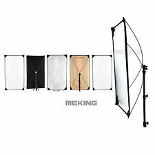 Light Control Panels System w/ fabrics  5-in-1 Light Photo Reflector 40-71inch