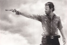 "The Walking Dead Rick Grimes Sheriff ART 20x30"" NO FRAME Canvas Print"