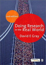 Doing Research in the Real World by David E. Gray (Paperback, 2009)