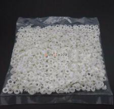 100PCS TO-220 White Transistor Plastic Washer Insulation Washer Transistor