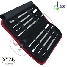 Syze raspatorien raspatorium Edelstah 8pc Set dentale, strumento ortopedico scalari UK