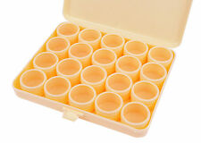 Proops Storage Box & 20 Clear Lid Compartments. Paints, Figures, Screws. S7225