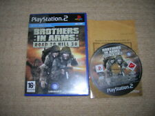 Brothers in Arms : ROAD TO HILL 30 - Rare Sony Playstation 2 Game