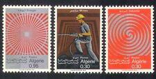 Algeria 1968 Miner/Mining/Industry/Energy/Coal/Minerals/Nuclear 3v set (n39256)