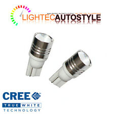 2 HIGH POWER CANBUS CREE 5w XENON PURE WHITE LED BULB 12V 501 W5W SIDELIGHTS