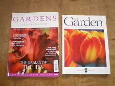 2 QUALITY BRITISH GARDEN MAGAZINES,GARDENS ILLUSTRATED,R.H.S GARDEN JOURNAL.
