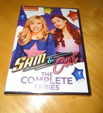 Sam and Cat: The Complete Series (DVD, 2015) Ariana Grande & Jennette McCurdy