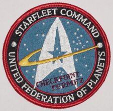 Bundeswehr Aufnäher Patch ISAF Termez United Federation of Planets ........A3029