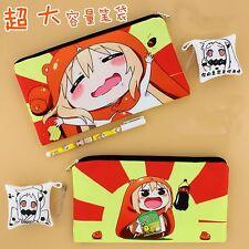 Anime Himouto! Umaru-chan Umaru Student Stationery Pencil Case Pen Bag