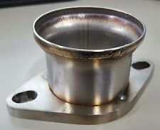 "3"" Stainless Pipe to 2.5"" 2 bolt Flange Reducer Downpipe Exhaust"
