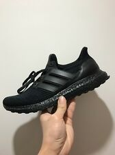 Adidas Ultra Boost 3.0 Triple Black PrimeKnit BA8920 UK8 US8.5 EU42 Running