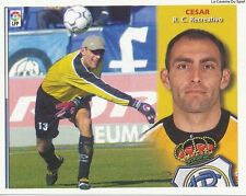 CESAR QUESADA # ESPANA RC.RECREATIVO LIGA 2003 ESTE STICKER CROMO