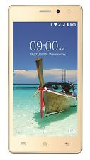 Lava A82 ( 8GB Gold )1GB RAM, Quad Core, 8GB ROM, Lollipop 5.1, 3G, GPS