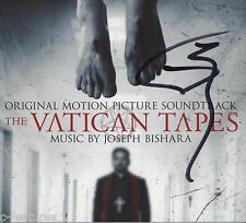 VATICAN TAPES Joseph Bishara CD AUTOGRAPHED Signed SCORE SOUNDTRACK Lakeshore