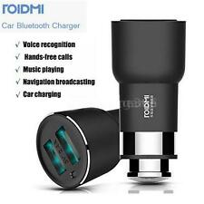 Roidmi 2S Music Bluetooth Car Charger 5V 2.4A for iOS Android HOT Best S6I8