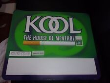 KOOL CIGARETTE YEAR 2000 LARGE STORE DISPLAY STICKERS LOT OF 5  19 X 16