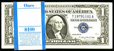 1957 B, $1 Fr 1621 Small Size Silver - Pack of 98 Consecutive Notes plus one sta