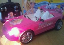 FERRARI MERCEDES CONVERTIBLE GIRLS Radio Remote Control Car  FAST PINK / LILAC