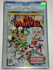 Ms. Marvel 2 (1977) CGC Graded 9.6 NM+ Origin of Ms. Marvel