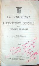 1920 FUTURISMO – INVIO AUTOGRAFO DI PAOLO BUZZI – AVANGUARDIE LETTERARIE MILANO