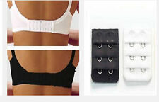 Two Pairs of Bra Extender 2 Hook Black&White No Sewing