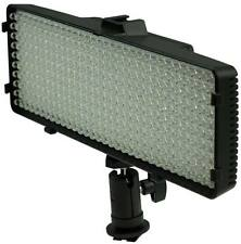 Polaroid 320 LED Dimmable Vari-Temp Super Bright LED Light For Camera/Camcorder