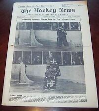The hockey news vol 12 no.6 November 8 1958  Jacques Plante / Fern Flaman