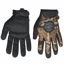 Klein Tools 40208 Journeyman Camouflage Gloves, size Medium