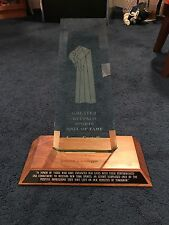 LARRY COSTELLO GREATER BUFFALO SPORTS HOF TROPHY NIAGARA UNIVERSITY NATS