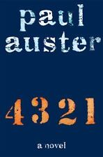 4 3 2 1 : A Novel by Paul Auster (2017, Hardcover)