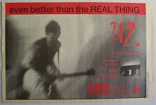 U2 1992 Poster Ad Even Better Than The Real Thing