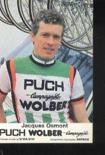 JACQUES OSMONT Cyclisme ciclismo PUCH WOLBER 81 Tour de France vélo campagnolo
