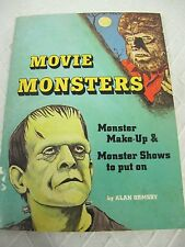 MOVIE MONSTERS ALAN ORMSBY VINTAGE 1975 BOOK SCHOLASTIC