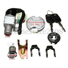 GY6 Key Ignition Switch Lock Fuel Tank Cap Set Scooter Moped 50cc 110-150CC Bike