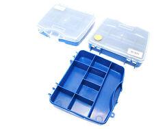 8 compartiment petite / mini rangement / stockage / Boîte à outils (ensemble de 3) nouveau tb089